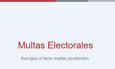 CONSULTA DE MULTAS ELECTORALES JNE
